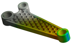 Finite Element Analysis Honeycomb lightweight