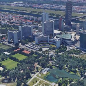 Vienna Donaube City Donaustadt 3D View