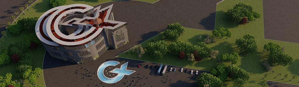 Cademix Building 3D Realistic rendering