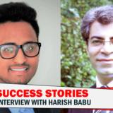 Interview Harish Babu