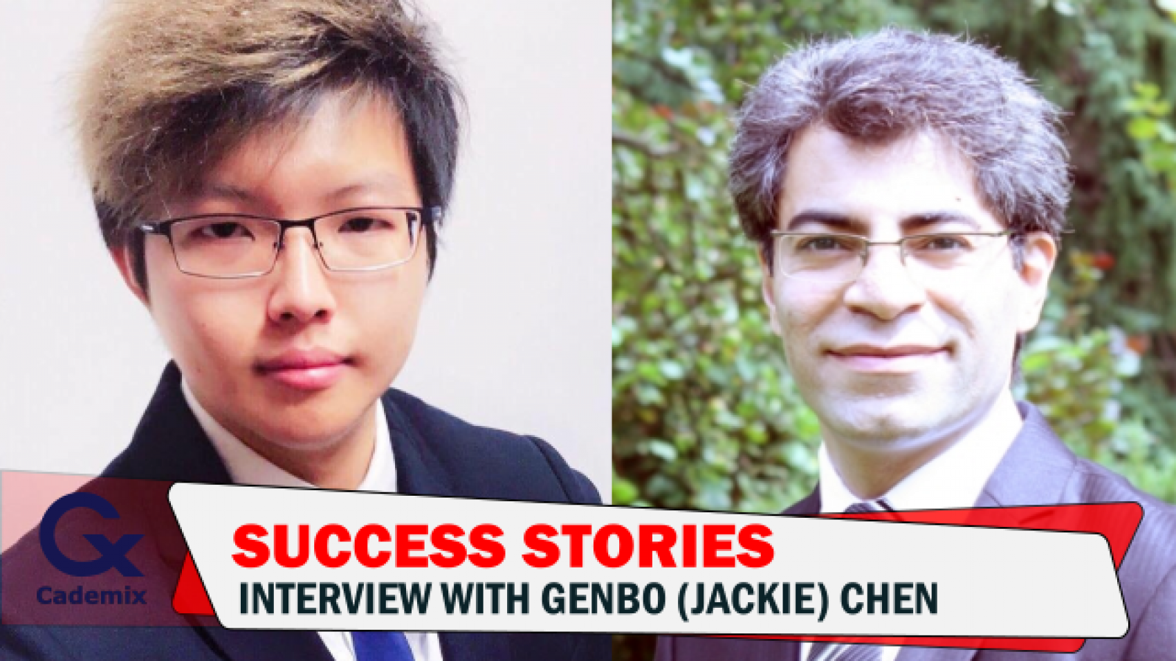 Javad Zarbakhsh Interview with Jackie Genbo Chen Cademix Success Story, Study Austria