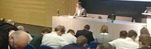 Zarbakhsh Lecture Tech Gate Vienna Austria