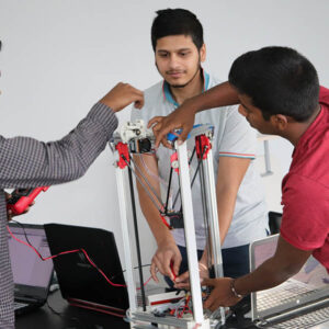 Cademix Group Project Delta 3D Printer Austria mechatronics