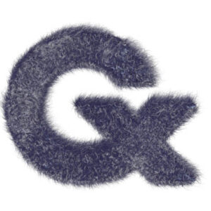 Cademix Logo with Blue Fur