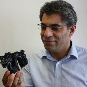 Javad Zarbakhsh 3D Printed Dragon