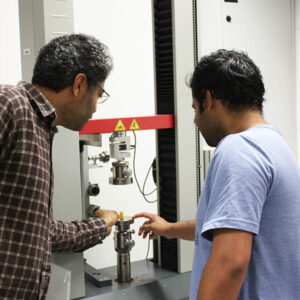 Javad Zarbakhsh Sarath Compression test lab