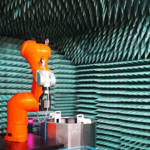 industrial robot mechatronic project Cademix Austria Sound proof measurement automated project