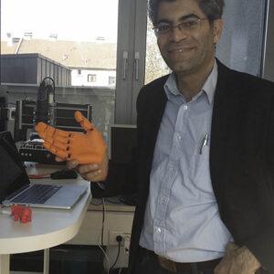 3D Printed bionic Hand Austria 3D Printing Lab
