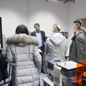 Train the trainers concept Javad Zarbakhsh 3D Printing Austria