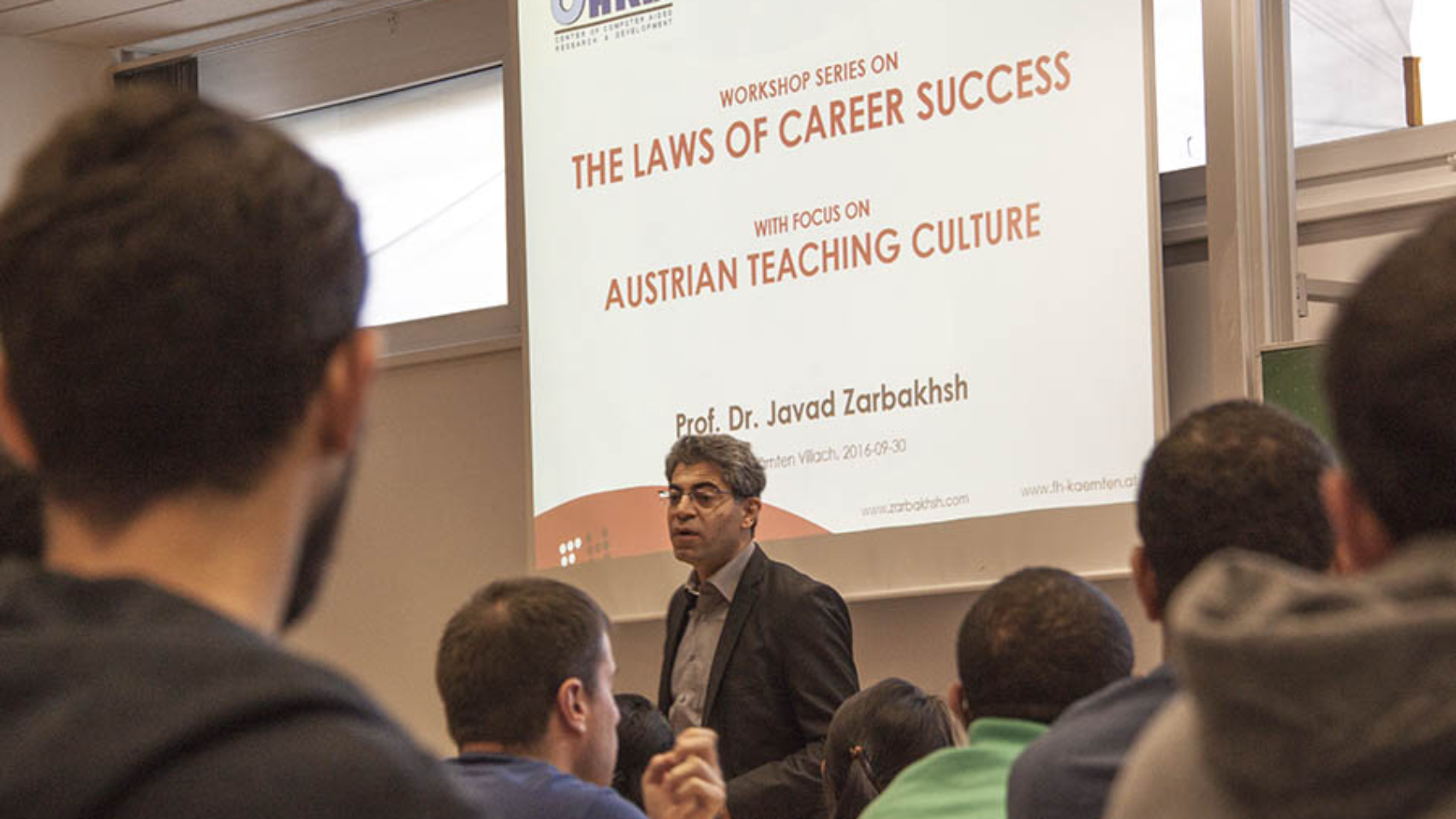 Zarbakhsh Talk Laws of Career Success Best Career Choice
