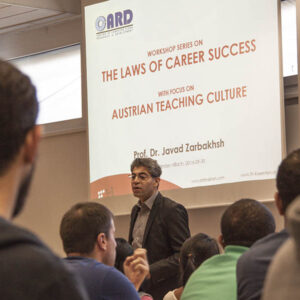 Zarbakhsh Talk Laws of Career Success
