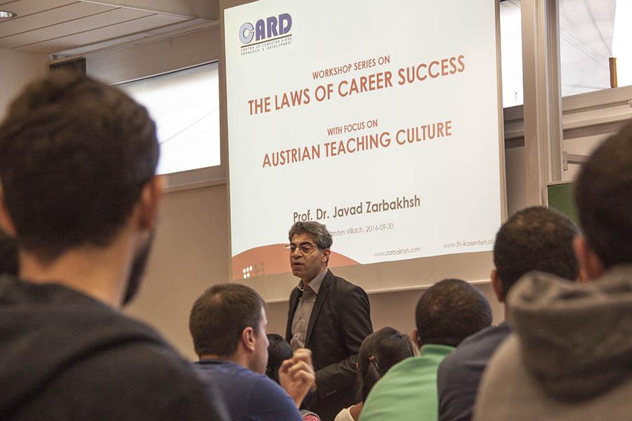 Zarbakhsh Talk Laws of Career Success Best Career Choice