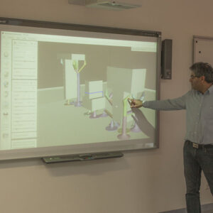 Zarbakhsh in 3D Design and 3D Printing Workshop
