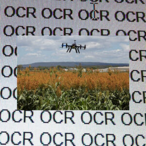 OCR AI agriculture robot drone