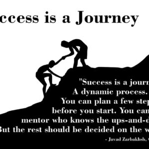 Success is a Journey Zarbakhsh Cademix Mentor Plan Career Quote