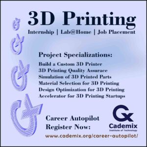 3D Printing Cademix Career Autoopilot Project Specializations Poster Square