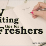 CV Writing Tips for freshers Cademix Article Lindah Awuor