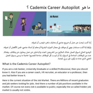 Cademic-Career-Autopilot Arabic English Jobs Job Market Hidden