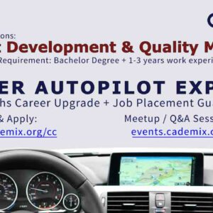 Cademix Career Autopilot Express Product Development Quality Manager Job Placement Europe Study Abroad Job Seekers Austria Germany Open to work vacancy CV Writing Upgrade