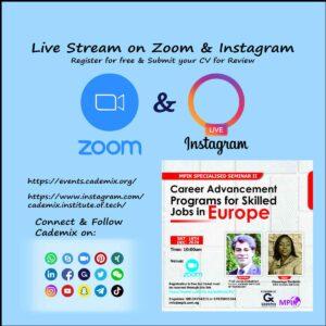 parallel Cademix Event Zoom Instagram Live Stream Javad Zarbakhsh