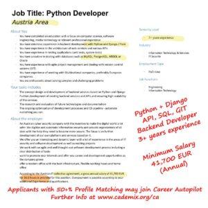 Cademix-JobBase-Python-Austria
