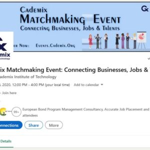 Cademix Matchmaking Event November 2020 Jobs Businesses Talents