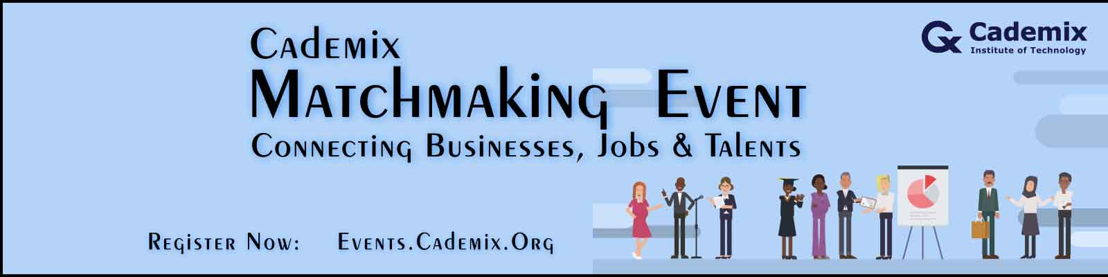 Cademix Poster Square Matchmaking Event Banner