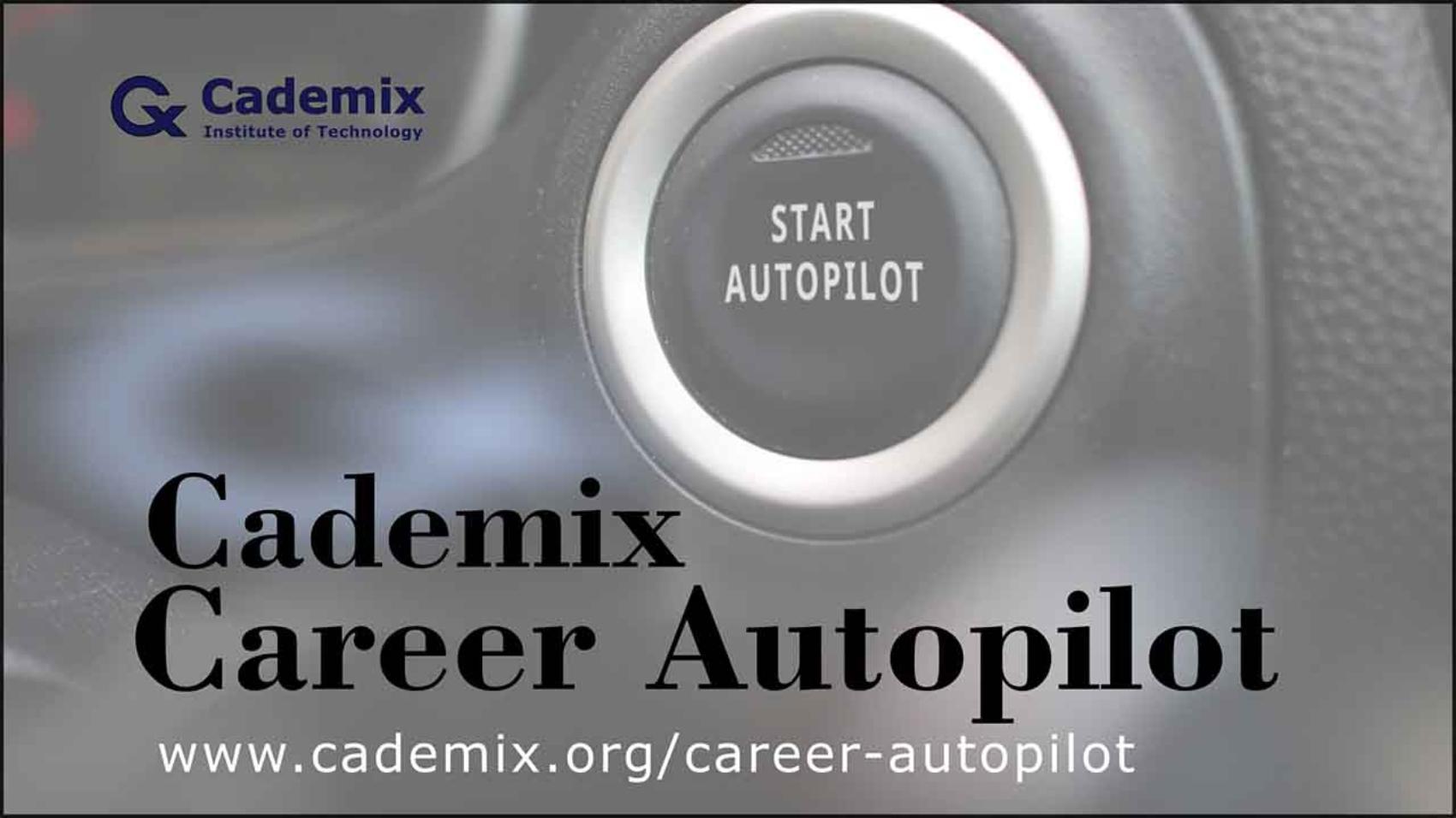 Career Autopilot - Cademix EU Job Placement and Upgrade Program for international Job Seekers Poster