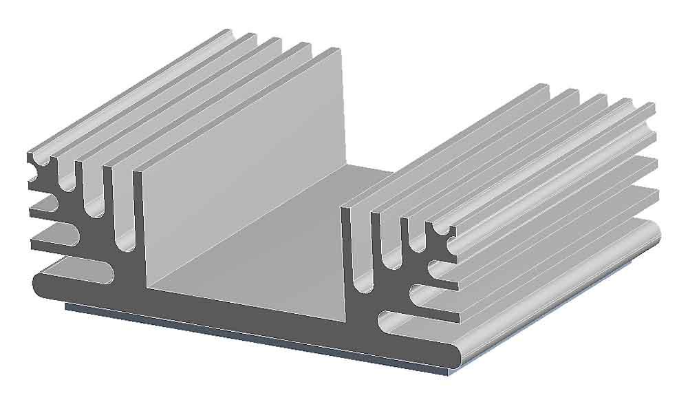 Heat Sink, Thermal Management Finite Element Simulation