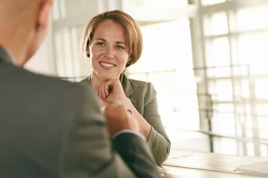 Interview Woman Meeting Job CV writing