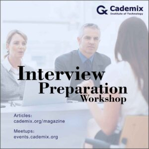 Job Interview Preparation Workshop Cademix Event Career Development