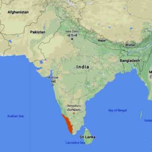 Kerala Map India Asia Middle East Study abroad Europe Job seekers
