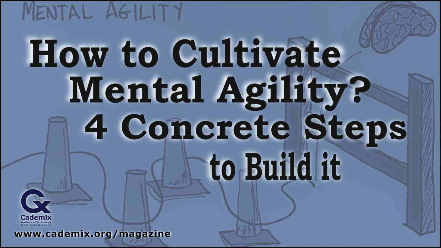 How to cultivate mental agility? 4 concrete steps to build it Cademix Magazine Article by Karima Aboukal