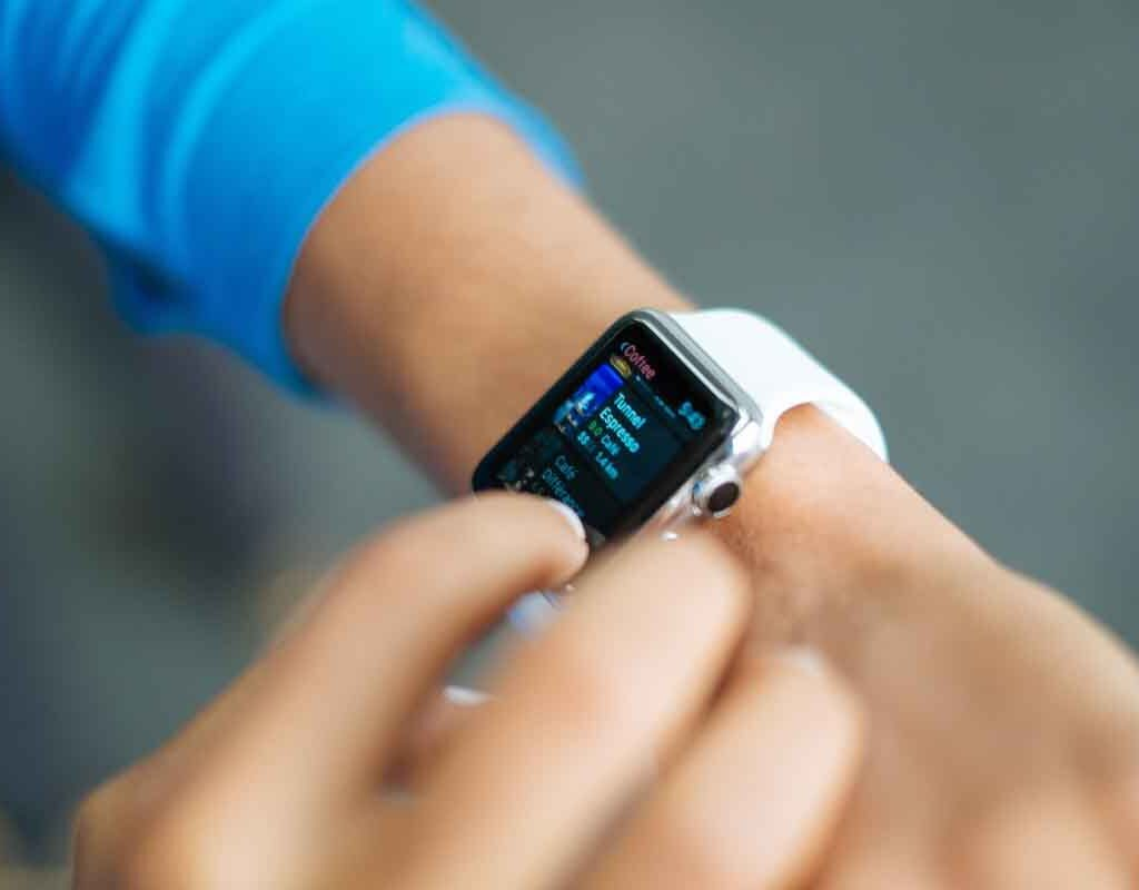 Smart Watch AI hand Artificial Intelligence