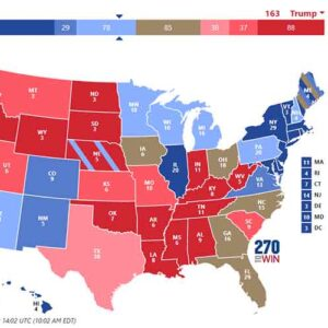 US Election Polls Consensus Forecast October26-2020