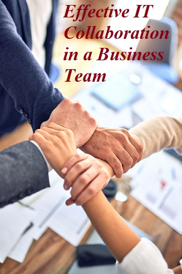 Collaboration Technology for a successful business growth teamwork