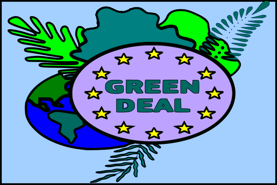 EU green deal banner