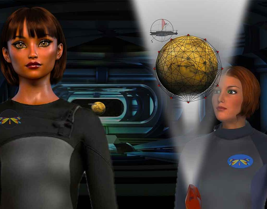 holography 3D imaging visualization animation characters