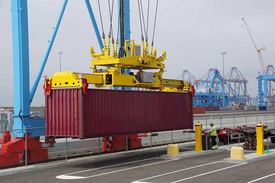 intralogistics logistics Trucks containers