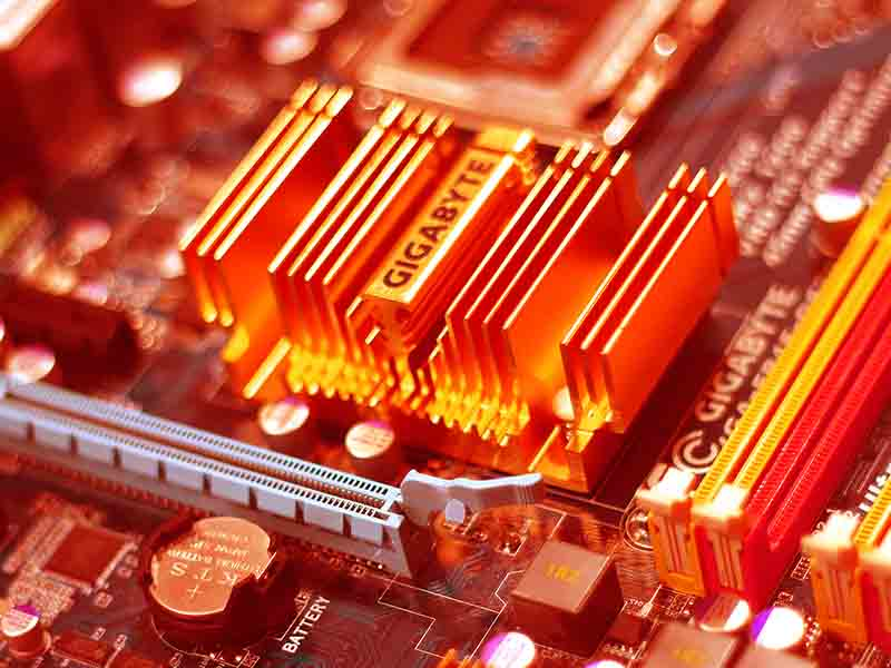 heat Sink Mother board Thermal Management Article Cademix